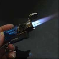Triple Jet Torch Flame Windproof Butane Refillable Lighter Windproof  Z1008 Free Shipping
