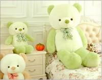 2015 New 3color teddy bear Skin100cm plush toys Tactic bear doll cute baby bear large girls plush toys girlfriend birthday gift