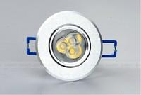 Free shipping LED spotlight a full set of lamps and lanterns of smallpox lamp hole  3 watt  aisle background LED wall lamp