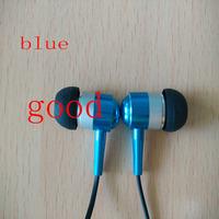 Lower price free shipping JUN ear phones subwoofer earphone mp3 mp4 mobile phone general earphones bass high-qaulity headset2494