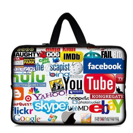 """cor barco 11.6"""" 12"""" laptop netbook tablet pc tampa da luva do saco caso + punho(China (Mainland))"""