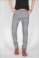 Free shipping men pants linen-cotton comfortable leisure men's trousers