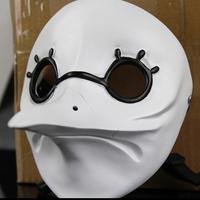 New White Masquerade Mask Venetian Long Nose Bird Doctor Plague Mask Beak Fancy Cosplay Masks Party Head Prop Bird Mouth Suvenir