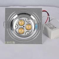 Free shipping Special ultra-bright LED 3watt high power LED spotlight /  LED light/ square Spotlight