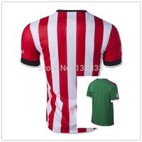 New Arrival Top Thai Quality 14-15 Athletic Club Bilbao Home Away Soccer Jersey Bilbao Football Shirt Free Shiping