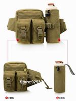 ZCO Outdoor Camping Belt Water Bottle Casual Sports Travel Waist Pack Waterproof Fanny Pack, Woodland Lightweight Durable Bag