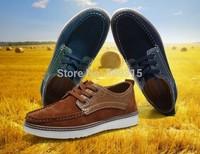 2014 Sneakers for men fashion boots men shoes genuine leather shoes men's flats shoes low men oxford shoes man office shoes