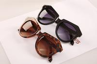 UV400 2014 New Cat Eye Style Sunglasses Vintage Glasses Fashion Coating Sunglass Women Men Brand Arrow Oculos De Sol 10 pcs/lot