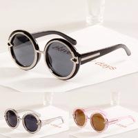 Spuer Cool Fashion 2014 new Big round metal arrow frame sunglasses Vintage brand designer sun glasses oculos de sol 10 pcs/lot