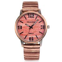 High Quality FeiFan Brand Vintage Women Dress Watches Bronze Dial Quartz Watch Japan Movement  AW-SB-1080