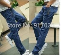 Hot stretch jeans men's Han edition leisure cowboy pants