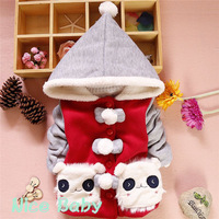 Retail New 2014 Autumn Children Outerwear,baby& kids jackets, Winter Coat, girl's clothing Free shippin 3  colorsg K-00008