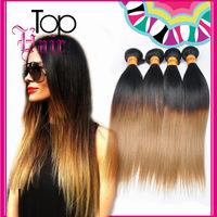 Gradient 1b/27# human hair hair hair human hair wigs curtain Brazil Europe and the United States straight hair wig
