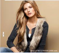 Direct selling new large size women fashion faux fur vest fur vest coats wholesale