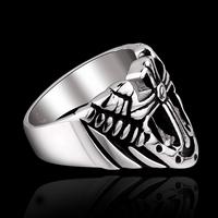 MY002 Hot Stainless Steel Jewelry Cool Individual Men/Women Punk Style  GOMAYA HELLSING SKULL Ring