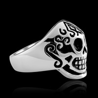 MYR008 New Arrival Stainless Steel Jewelry Cool Individual For Men/Women Punk Style  GOMAYA HELLSING SKULL Ring