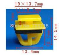 100 Free Shipping High Quality Rocker Moulding Clip W/ Sealer Retainer A21064 87758-35000 For Hyundai Accent Santa Fe Tiburon