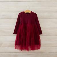 2014 New autumn,girls princess dress,children brief cotton dress,long sleeve,4 colors,5 pcs/lot,wholesale,1847