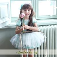 Amber berry 1388 Korea Korean children's clothing brand children's clothing children dress wholesale pearl dress