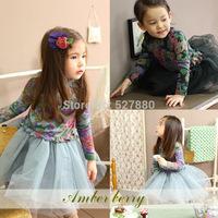 [Amber berry3199 stock ] Korean brand children's clothing wholesale children's clothing spring and winter dress