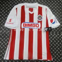 14/15 Deportivo Guadalajara soccer jerseys thai 3AAA quality Chivas football shirts top quality free shipping