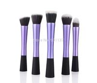 makeup tool purple colour 5pcs concealer professional brushes dense powder brush cosmetic CZ007