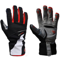 High quality Warm in Winter Thickening  Bike Bicycle Gloves Thick Windproof Waterproof Full Finger Cycling Gloves