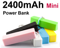 Lot 10pcs Mini Pocket 2400mAh Power Bank Portable Li-ion Battery Charger - CellPhone for Small gifts