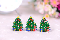 Wholesale 20pc Christmas Tree With Candy Resin Flatbacks Flat Back Scrapbooking Hair Bow Center Crafts Making