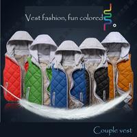 sport outdoor Waterproof men's casual vest man colorful waistcoat plus size XXXL XXXXL sleeveless jacket fashoin new 2014 spring