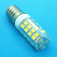 E14 3.5W Ceramic LED, AC 100-120V/200-240V, 51PCS SMD2835 LED Lamp, RA>80, Epistar Chipset, 100lm/w, 100pcs/lot