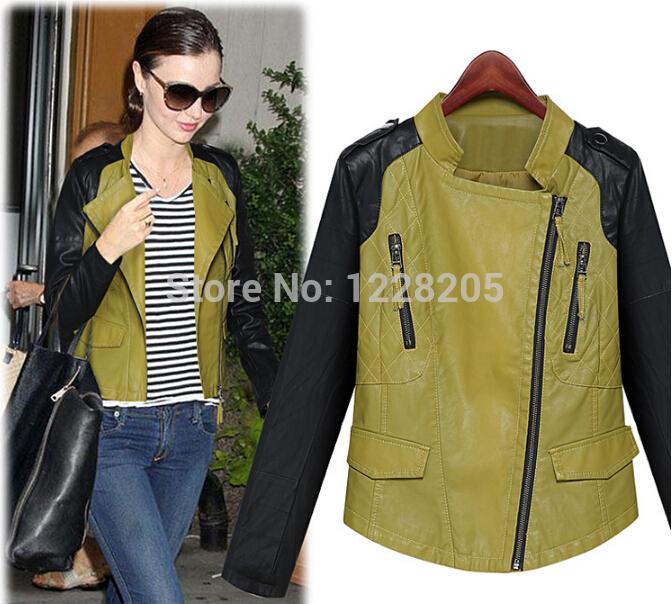 Женская одежда из кожи и замши Made in China PU Coat0091