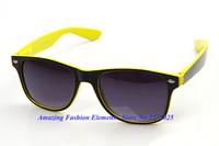 2014Fashion New RB 2140 Unisex Wayfarer New 80s Style Joint Multi-coloured Summer Shade UV400 Sunglasses 3 Color Wholesale