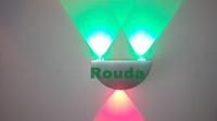 Decoration 3w LED Wall Light Sconces Decor Fixture 3W LED wall light Decor Fixture Lights Lamp Light bulb R/G/B/Y/W.W/W