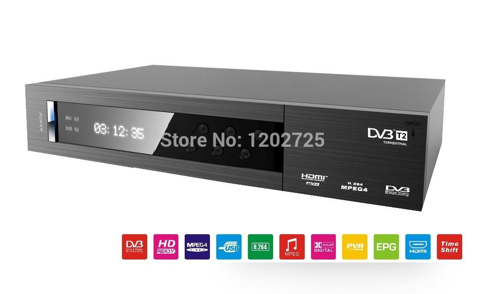FTA HD Digital dvb-t2 decoder tv box, with MSTAR 7802 dvb t2 receiver box watch hd 1080p H.264 PVR tv dvb t2(China (Mainland))