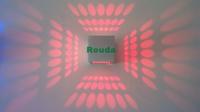 New Fashion LED Wall Light Sconces Decor Fixture 3W LED wall light Decor Fixture Lights Lamp Light bulb R/G/B/Y/W.W/W