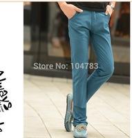 pants men casual pant men new  straight  cotton perfect  pants high quality