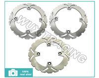 Front + Rear Brake Disc Rotors For HONDA XLV TRANSALP PD10 H6860 600 650 XL700V TRANSALP ABS 700
