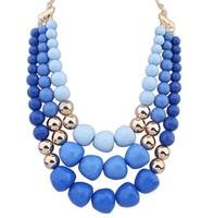 2014 New Style Western Statement Fashion chain pendant Choker Women OL Style Necklace Jewelry Hot Wholesales great gift