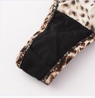 Sexy Leopard Buckle Panties Ladies G-string Thongs Women Lingerie