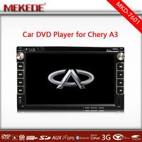 Russian language Menu with Navitel GPS Navigator Car cassette recorder For Chery A3 /A5/Tiggo with DVD/IPOD/3G WIFI/ATV/BT/USB