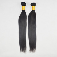 Best selling 100% unprocessed virgin indian hair straight tangle free and no shedding 8-30 inch straight hair with free gift