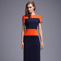 summer dress 2014 office dress women work wear roupas femininas plus size women clothing victoria dress