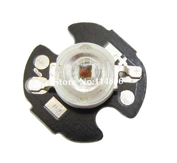 50pcs 1W 1.7V 300MA IR 940 LED diodes Light parts Night Vision CCTV Camera With 16mm Round Base(China (Mainland))
