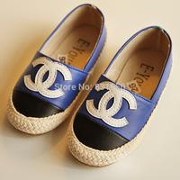 free shipping new arrival kids shoes Korean version boys girls flat shoes children fisherman style footwears