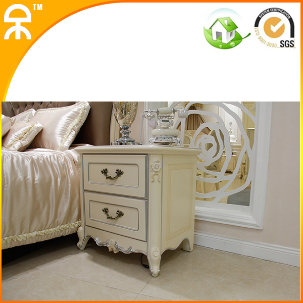 fashionable 2 colors optional solid wood night stand for bedroom furniture #CE-FS-8011(China (Mainland))