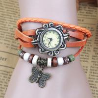 7 Colors Original High Quality Women Genuine Leather Vintage Watches, Smart Bracelet Wristwatches relogio feminino ladies watch
