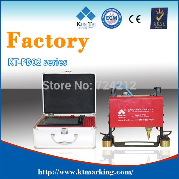 CNC control portable pneumatic dot pin marking machine,automatic dot peen marking machines on metal parts(China (Mainland))