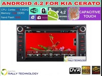 Dual-Core Cortex A9 1.6GHz Car Android 4.2 Car PC DVD GPS For Kia Ceed Cerato Cerens Sorento Rio Optima Sedona Sportage