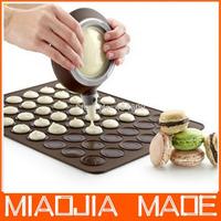 2013 fashionable Macaron Silicone Mat+Macron pot,cake Muffin Mold&Decorating Tips Cream Squeezing Set